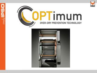 Programmable clean lint screen reminder OPT is available in capacities of 50 to 170 lb