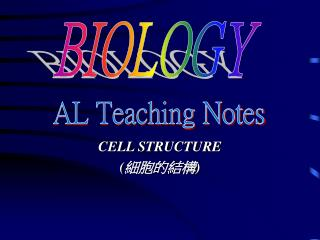CELL STRUCTURE ( ?????)