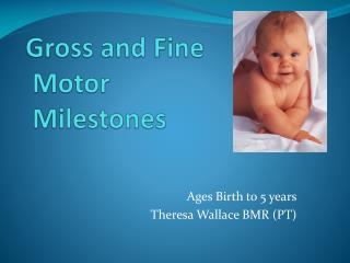 Gross and Fine Motor Milestones