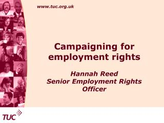 Campaigning for employment rights
