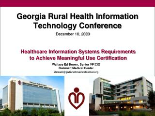 Georgia Rural Health Information Technology Conference