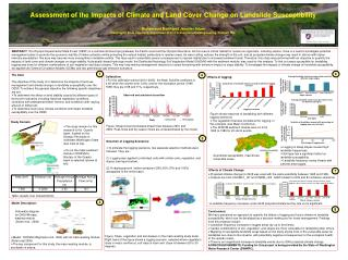 Assessment of the Impacts of Climate and Land Cover Change on Landslide  Susceptibility