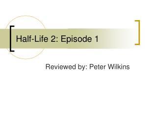 Half-Life 2: Episode 1