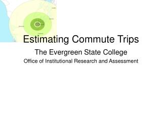 Estimating Commute Trips