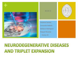Neurodegenerative diseases and triplet expansion