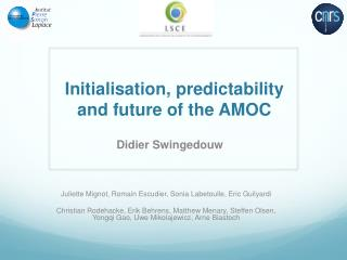 Initialisation,  predictability  and future of the AMOC
