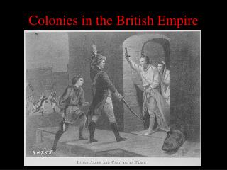 Colonies in the British Empire