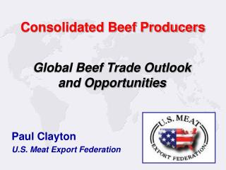 Consolidated Beef Producers