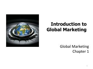 Global Marketing Chapter 1