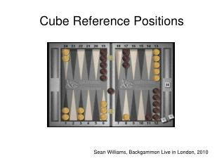 Cube Reference Positions