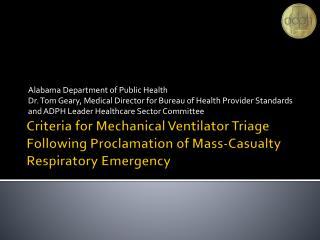 Alabama Department of Public Health