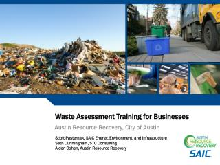 Waste Assessment Training for Businesses