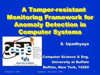 A Tamper-resistant Monitoring Framework for Anomaly Detection in Computer Systems