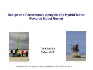 Design and Performance Analysis of a Hybrid-Motor Powered Model Rocket