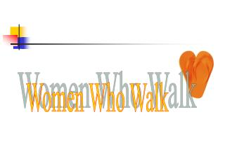 Women Who Walk