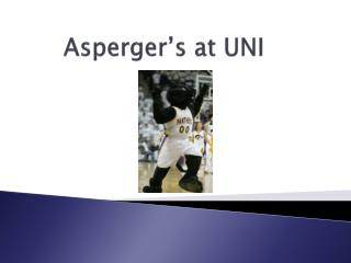 Asperger's at UNI