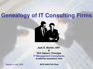 Genealogy of IT Consulting Firms