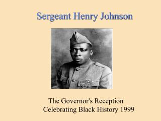 Sergeant Henry Johnson