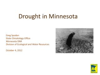 Drought in Minnesota