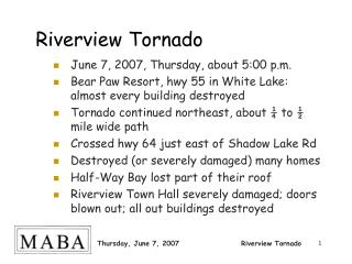 Riverview Tornado
