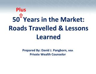 50  Years in the Market: Roads Travelled & Lessons Learned