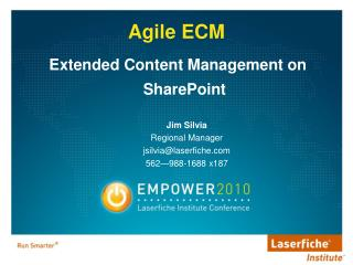 Extended Content Management on SharePoint