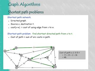 Shortest path problems