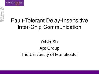 Fault-Tolerant Delay-Insensitive Inter-Chip Communication