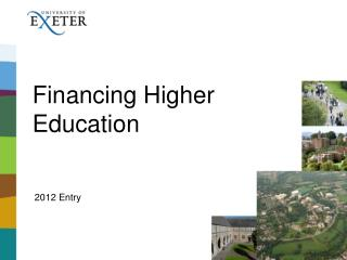 Financing Higher Education