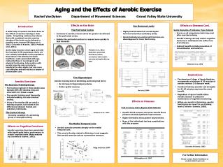 Aging and the Effects of Aerobic Exercise