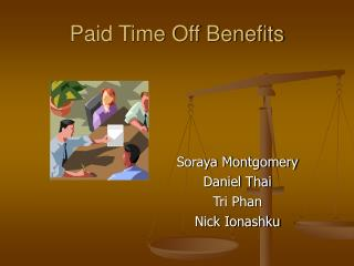 Paid Time Off Benefits