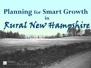 Planning  for  Smart Growth