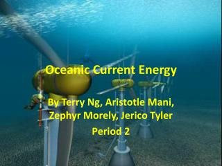 Oceanic Current Energy