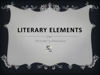 literary terms for poetry analysis