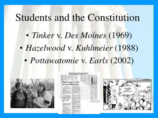 Students and the Constitution