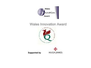 Wales Innovation Award