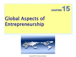 Global Aspects of Entrepreneurship