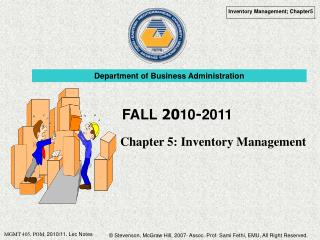Chapter 5: Inventory Management