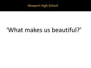 Newport High School