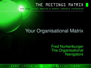 Your Organisational Matrix