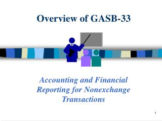 Overview of GASB-33