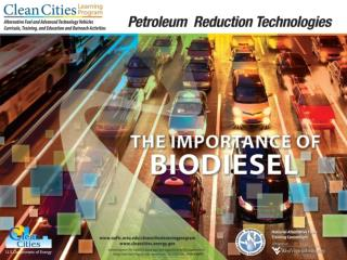 Objectives Describe how biodiesel may help improve public health