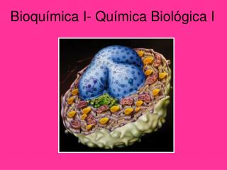Bioquímica I- Química Biológica I