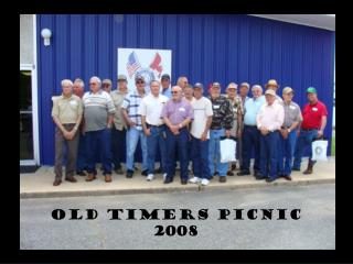 OLD TIMERS PICNIC 2008