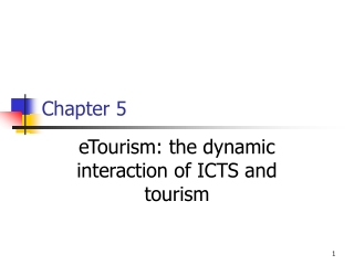 The Tourism Industry