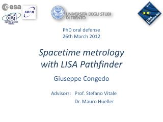 Spacetime metrology  with LISA Pathfinder