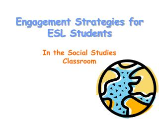 Engagement Strategies for ESL Students