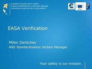 EASA Verification