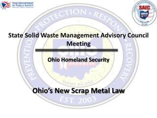 Ohio Homeland Security