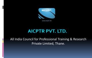 AICPTR Pvt. Ltd.